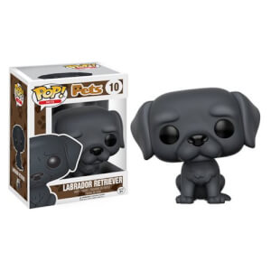 Pop! Pets Black Labrador Retriever Pop! Vinyl Figur
