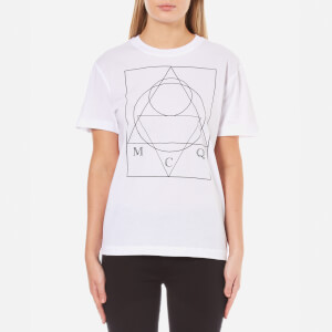 McQ Alexander McQueen Women's Classic Logo T-Shirt - Optic White