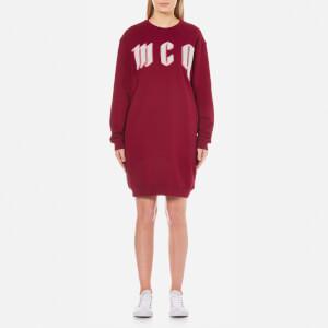 McQ Alexander McQueen Women's Classic Sweatshirt Dress - Damson
