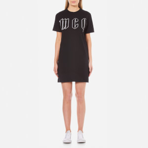 McQ Alexander McQueen Women's Logo T-Shirt Dress - Darkest Black