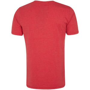 Tokyo Laundry Men's Essential Crew Neck T-Shirt - Tokyo Red: Image 2