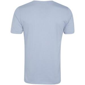 Tokyo Laundry Men's Essential Crew Neck T-Shirt - Placid Blue: Image 2