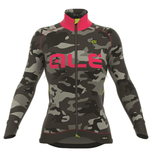 Alé Women's PRR Camo Winter Jacket - Black/Red