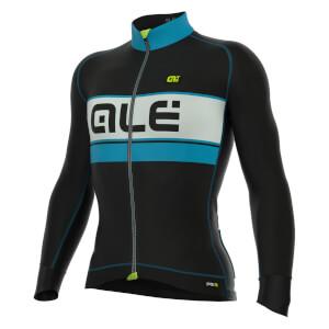 Alé PRR Dolomiti Bering Long Sleeve Jersey - Black/Blue