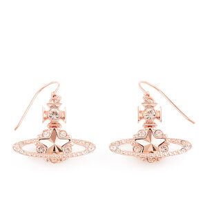 Vivienne Westwood Women's Astrid Earrings - Crystal/Rose Gold