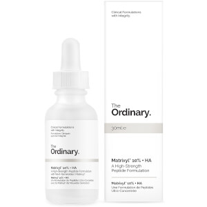 Formulation de Peptides Ultra-Concentrée avec du Matrixyl 10 % + HA The Ordinary 30 ml