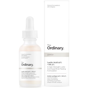 The Ordinary Lactic Acid 10% + HA 2% Superficial Peeling Formulation 30ml