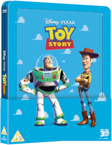 Toy Story 1 3D (+ 2D) - Steelbook Lenticulaire Exclusivité Zavvi (Édition UK)