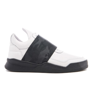 Filling Pieces Women's Elastic Strap Low Top Trainers - White