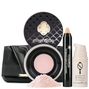 Mirenesse Invisible Wrinkle Cover Up BB CC Kit