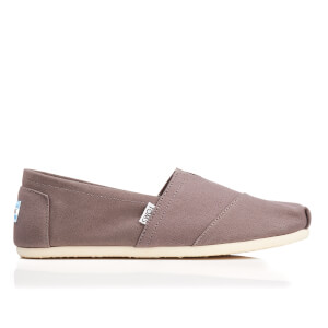 TOMS Men's Seasonal Classics Slip-On Pumps - Ash Canvas