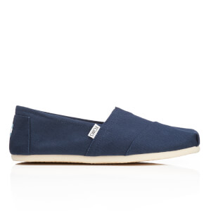 TOMS Men's Core Classics Slip-On Pumps - Navy Canvas