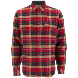 Fjallraven Men's Singi Heavy Flannel Shirt - Deep Red