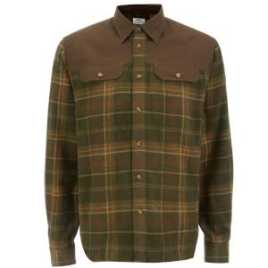 Fjallraven Men's Granit Shirt - Green/Dark Olive