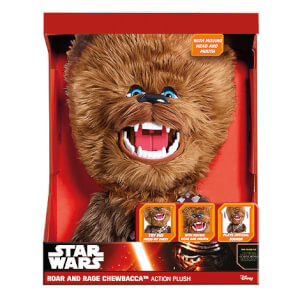 16 inch Star Wars Roar and Rage Chewbacca