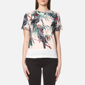 PS by Paul Smith Women's Cockatoo Crew Neck T-Shirt - Pink