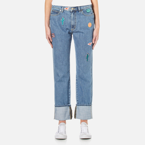 PS by Paul Smith Women's Patches Jeans - Denim