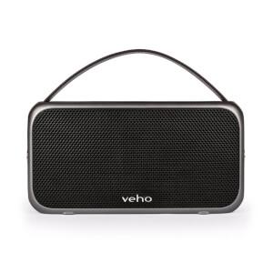 Veho M7 Enceinte haut-parleur rétro sans fil Waterproof -Noir
