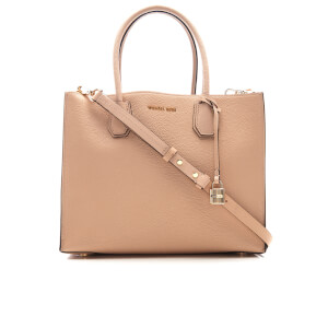 MICHAEL MICHAEL KORS Women's Mercer Large Tote Bag - Oyster