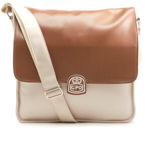 GPO Record Bag - Cream/Tan