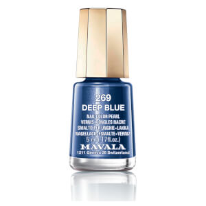 Mavala Nail Polish - 269 Deep Blue