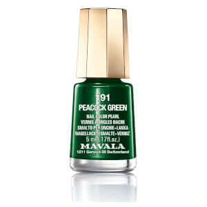 Mavala Nail Polish - 191 Peacock Green