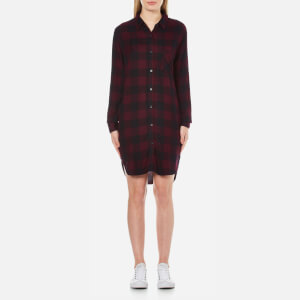 Rails Women's Bianca Shirt Dress - Rosewood/Navy Check