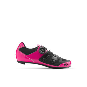 Giro Raes Techlace Women's Road Cycling Shoes - Pink/Black