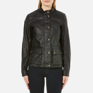 Belstaff Women's Longham Waxed Cotton Jacket - Black