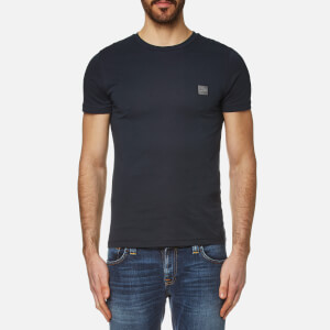 BOSS Orange Men's Tommi Crew Neck T-Shirt - Dark Blue