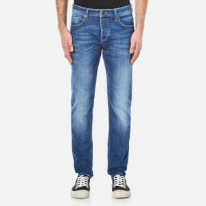 BOSS Orange Men's Orange 90 Tapered Jeans - Bright Blue