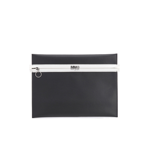 MM6 Maison Margiela Women's Logo Clutch Bag - Black