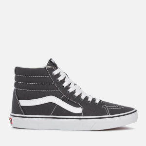 Vans Men's Sk8-Hi Canvas Hi-Top Trainers - Asphalt