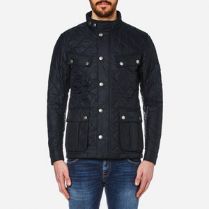Barbour International Men's Ariel Quilted Jacket - Navy