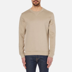 Selected Homme Men's Boris Crew Neck Sweatshirt - Crockery