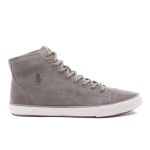 Polo Ralph Lauren Men's Kelsey Hi-Top Trainers - Charcoal Grey