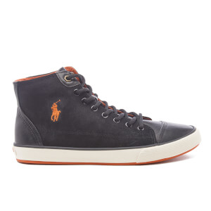 Polo Ralph Lauren Men's Kelsey Hi-Top Trainers - Black