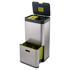 Joseph Joseph Intelligent Waste Totem (60L) - Stainless Steel
