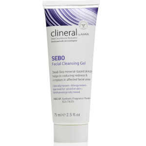 CLINERAL SEBO Facial Cleansing Gel 75ml