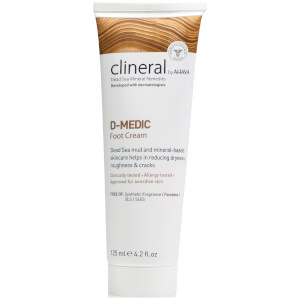 CLINERAL D-MEDIC Foot Cream 125ml