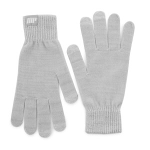 Knitted Gloves – Grey