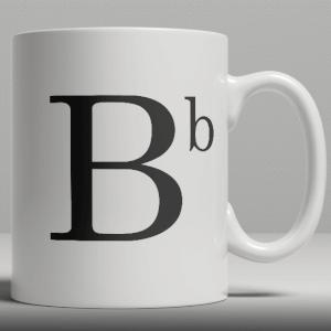 Keramische Mok - Letter B
