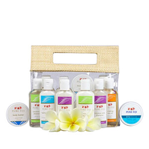 Pure Fiji Travel Bag Mini Sampler