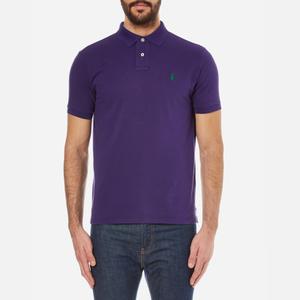 Polo Ralph Lauren Men's Custom Fit Polo Shirt - Plum Candy
