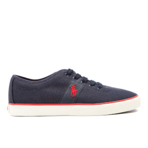 Polo Ralph Lauren Men's Halford Vulcanised Canvas Trainers - Newport Navy