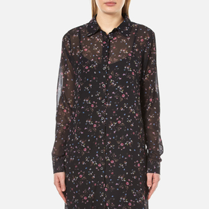 Gestuz Women's Stacie Long Shirt Dress - Mini Flower