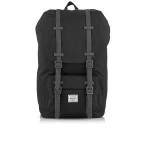 Herschel Supply Co. Little America Backpack - Black/Charcoal Debossed Rubber