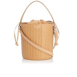 meli melo Women's Santina Large Woven Bucket Bag - Sand