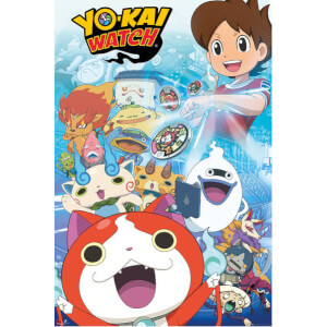 Yo-Kai Watch Key Art Maxi Poster - 61 x 91.5cm