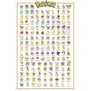 Pokemon Kanto 151 Maxi Poster - 61 x 91.5cm